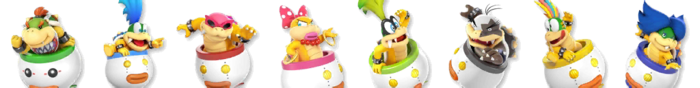 Bowser Jr. Palette (SSB4)