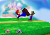Mario Neutral attack SSB