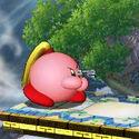 Zero Suit Samus Kirby (SSB3DS)