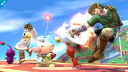 Olimar downsmash
