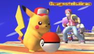 Pikachu Congratulations Screen All-Star Brawl
