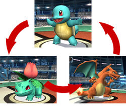 Pokemon change diagram