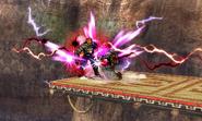 Shocking spin attack
