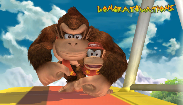 File:Diddy Kong Congratulations Screen All-Star Brawl.png
