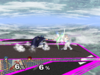 Marth Floor attack (back) SSBM