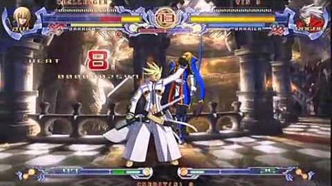 BlazBlue Ren (Jin) vs Kaqn (Ragna)