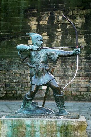 Bestand:Robinbos - 400px-Robin Hood Memorial.jpg