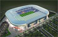 Olympisch Stadion Muntegu 1