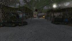 Merc camp entrance