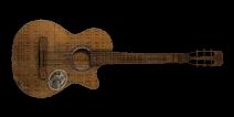 Cop icon guitar