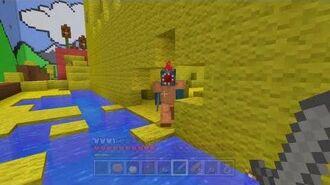 Minecraft Xbox - Hunger Games In The Magic Garden - Round 2