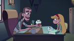 S2E3 Mr. Candle giving Star some candy