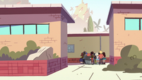 S2E16 Echo Creek Academy students gathered in a group