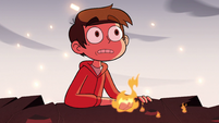 S2E15 Marco Diaz looks at the lava zone