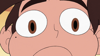 S2E31 Close-up on Marco Diaz's startled face