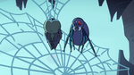 S2E2 Giant spider standing on rear legs