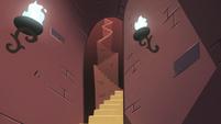 S2E25 Bureaucracy of Magic's long winding stairs