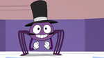 S2E22 Spider With a Top Hat excited for the spells' return