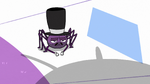 S2E22 Spider With a Top Hat looking unamused