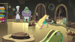 S3E5 Star Butterfly stomps to the tadpoles' room