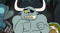 S2E12 Dogbull telling Buff Frog to be quiet