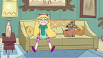 S2E6 Star Butterfly looking disheveled