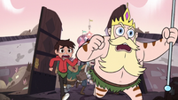 S3E4 River, Marco, and villagers charging forward