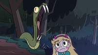 S3E5 Snake hissing menacingly at Star Butterfly