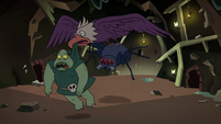 S2E20 Bald eagle snatching Buff Frog