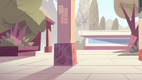 Star Comes to Earth background - Echo Creek Academy interior