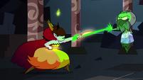 S2E41 Ludo-Toffee lashes magic around Hekapoo's wrist