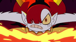 S2E41 Hekapoo angrily opens a dimensional portal