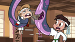 S1E5 Monster arm tells Marco to finish Jeremy