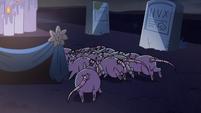 S2E27 Rats scurrying behind Bon Bon's shrine