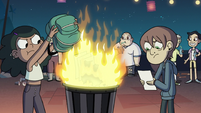 S2E41 ECA kids burning their homework