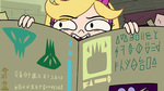 S2E25 Star Butterfly presents the book while cackling