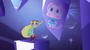S2E32 Star Butterfly pointing at Kitty Star Butterfly