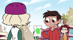 S2E26 Marco Diaz holding Jackie's moon drawing