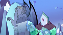 S2E34 Rhombulus 'rock candy or something'
