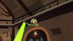 S2E8 Ludo flies around the bar with his wand
