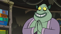 S3E5 Buff Frog happy to do Star Butterfly a favor
