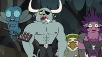 S2E12 Dogbull and monsters in slack-jawed shock