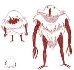 Hungry Larry Concept art - Hungry Larry 1