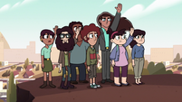 S2E9 Other Echo Creek citizens raise their hands