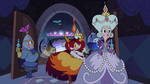 S2E40 Moon, River, and Hekapoo run into the throne room