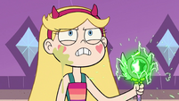 S2E15 Star Butterfly raises her wand in anger
