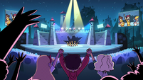 S2E39 Star, Marco, and Jackie watch LS perform on stage