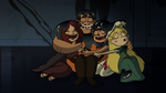 S2E21 Star, Marco, Rafael, and Angie share a group hug