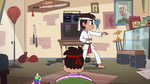 S2E37 Marco Diaz demonstrating his karate skills