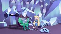 S2E34 Star Butterfly kicks crystal tears on the ground